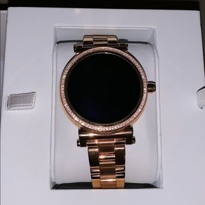Michael Kors Tech Watch - Rose Gold - Like New